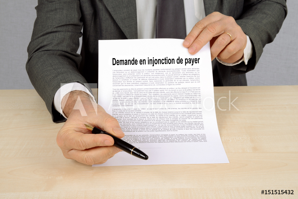 INJONCTION DE PAYER